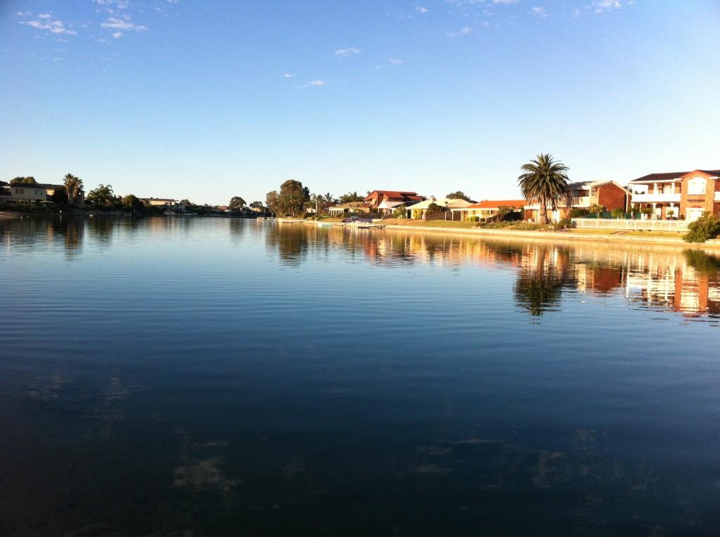 Hermit crab lake