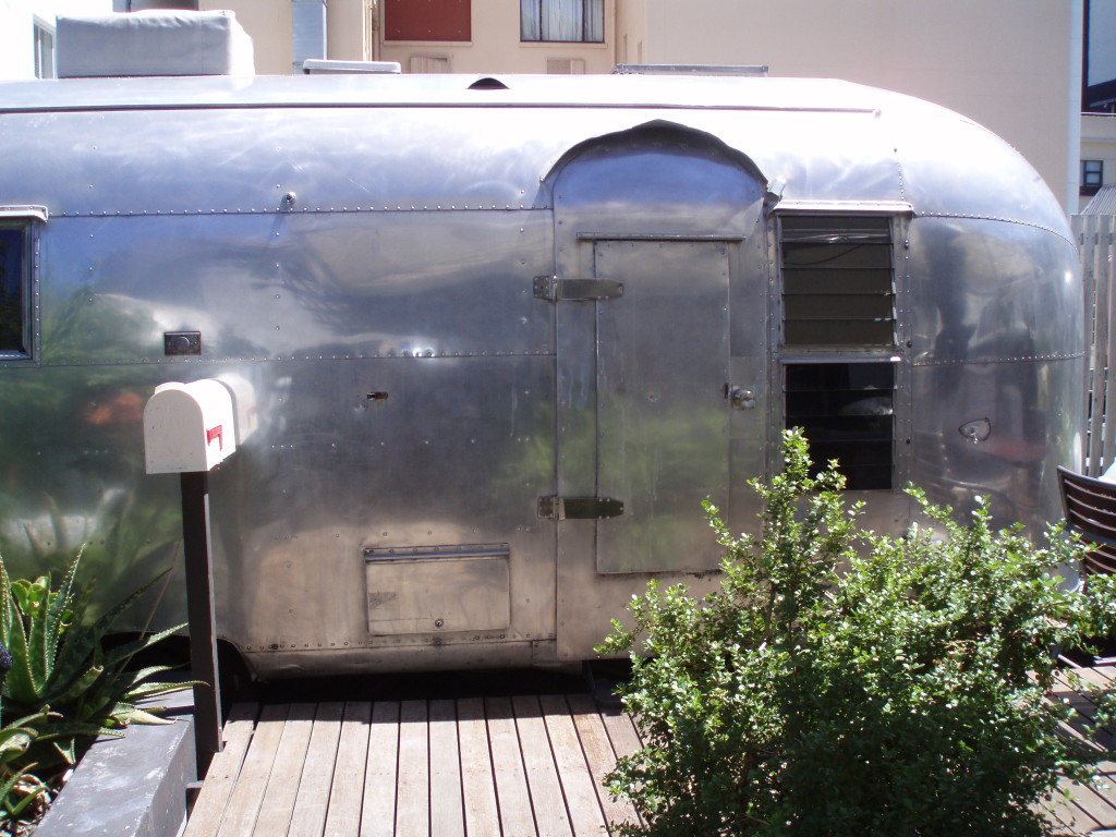 Our trailer on the roof