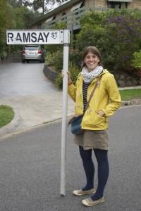 Me on Ramsay Street!