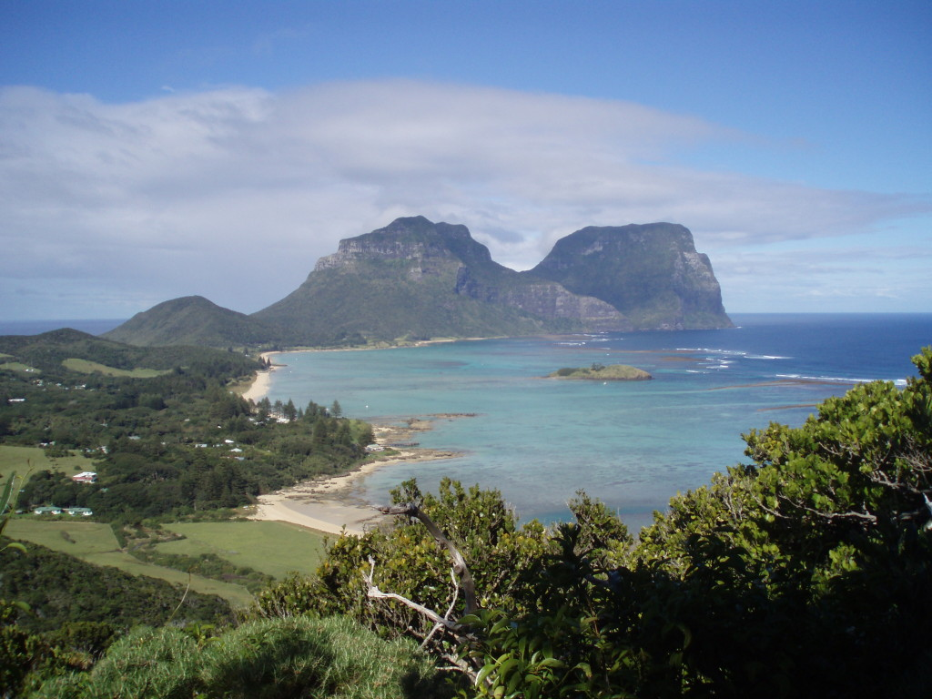 View of Mount Gower